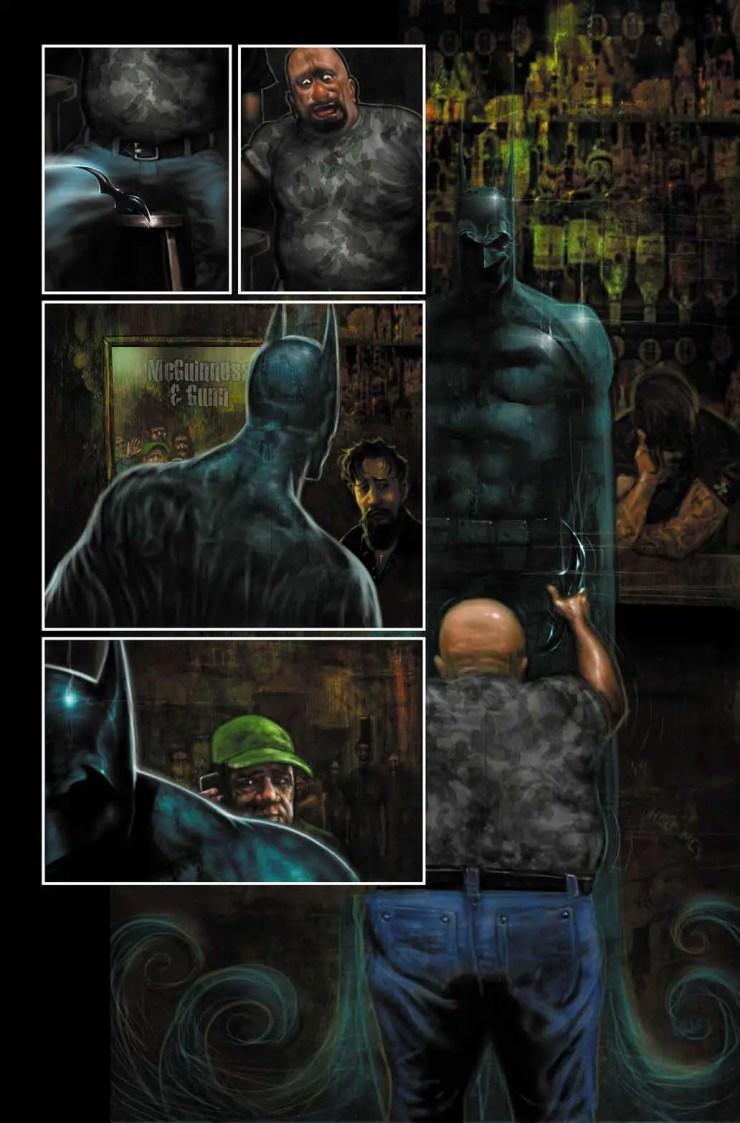Garth Ennis and Liam Sharp DC Black Label series 'Batman: Reptilian'