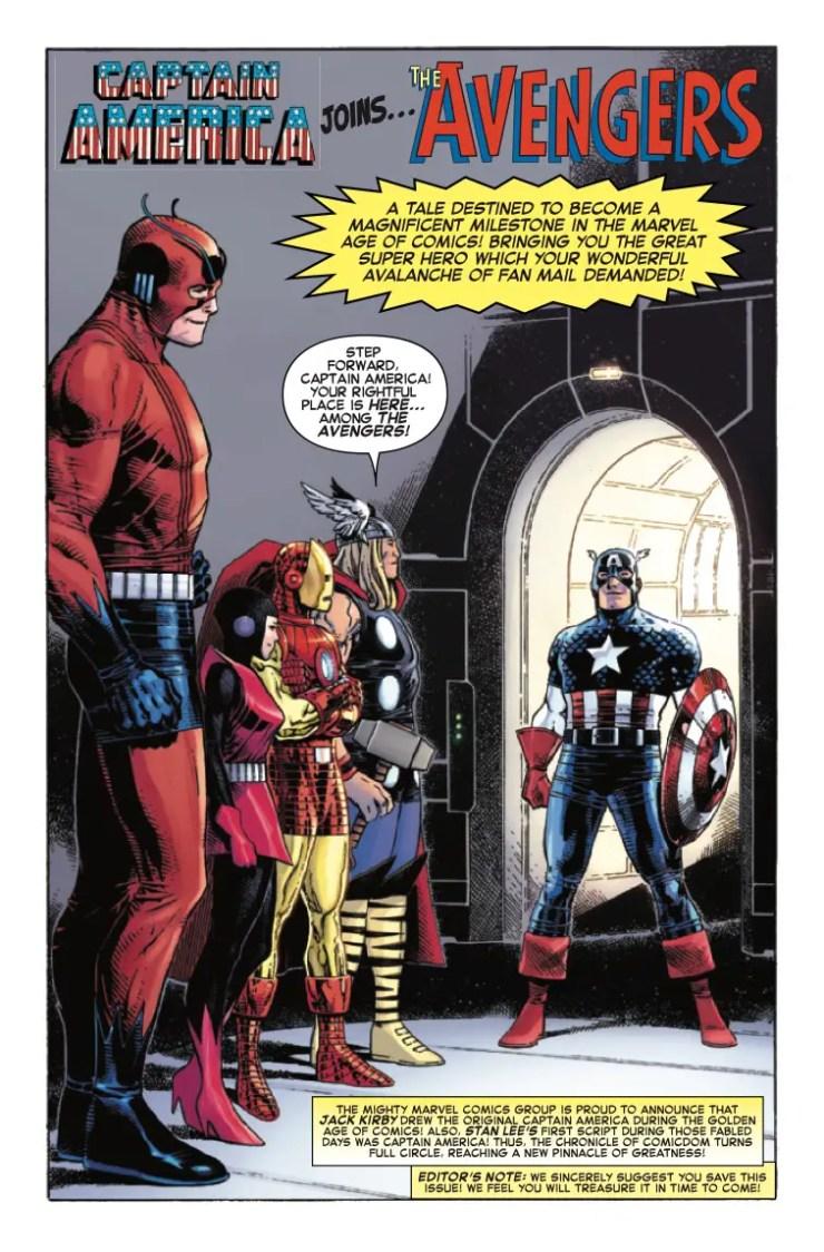 Marvel Preview: Captain America Anniversary Tribute #1