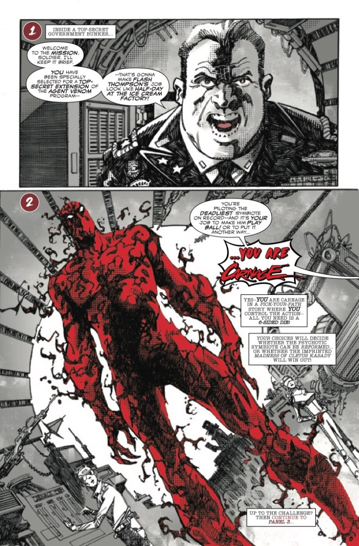Marvel Preview: Carnage: Black, White & Blood #1