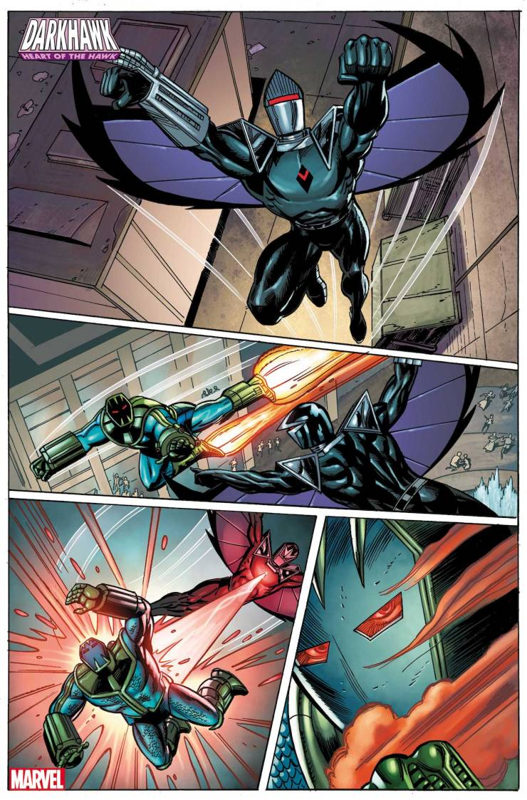 Marvel First Look: Darkhawk: Heart of the Hawk #1