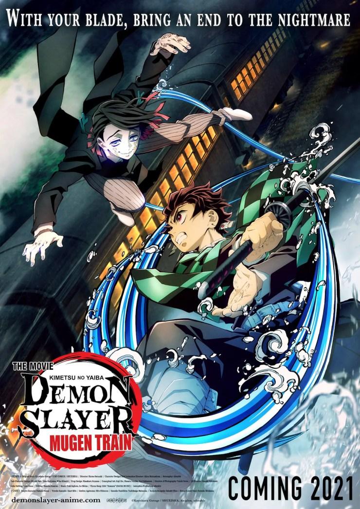 'Demon Slayer -Kimetsu no Yaiba- The Movie: Mugen Train' headed to North America