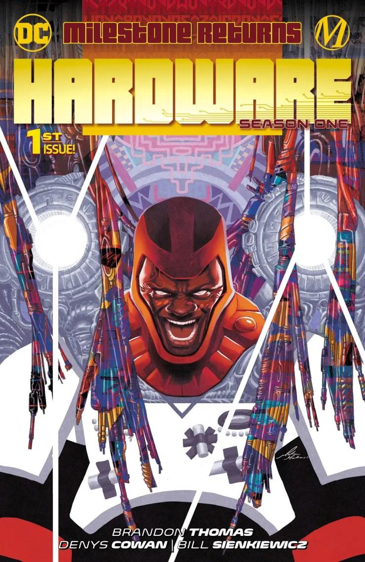 DC Comics same day print/digital release for Milestone comics