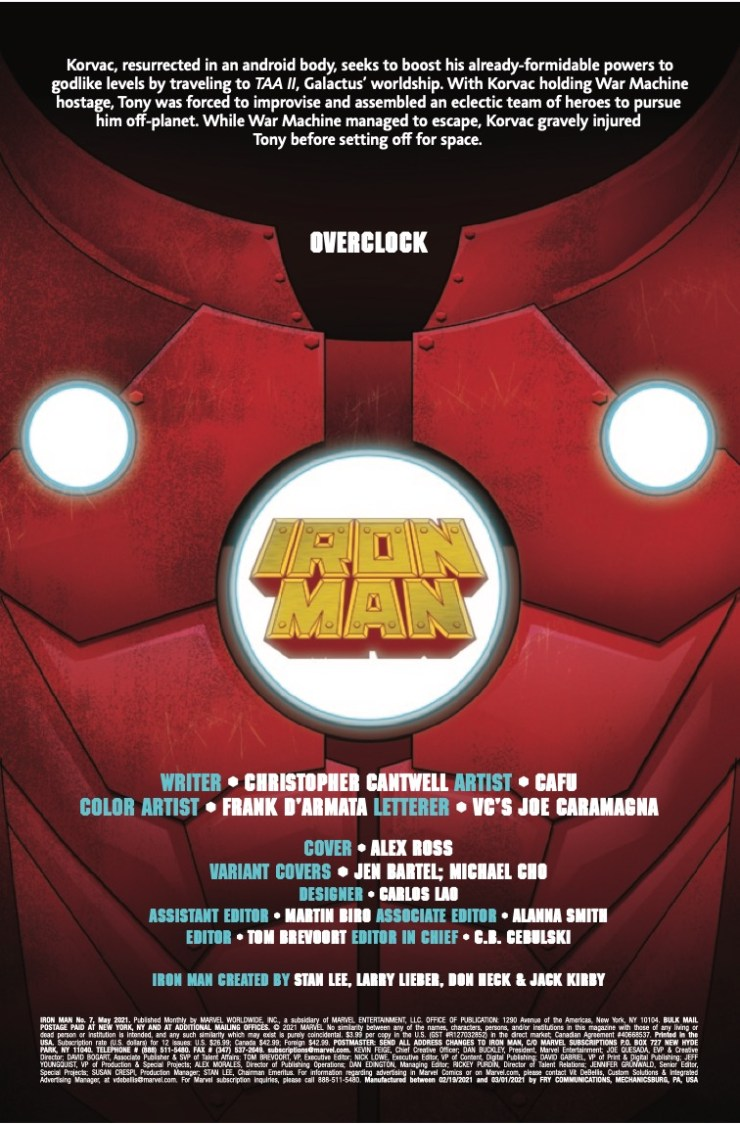 Marvel Preview: Iron Man #7
