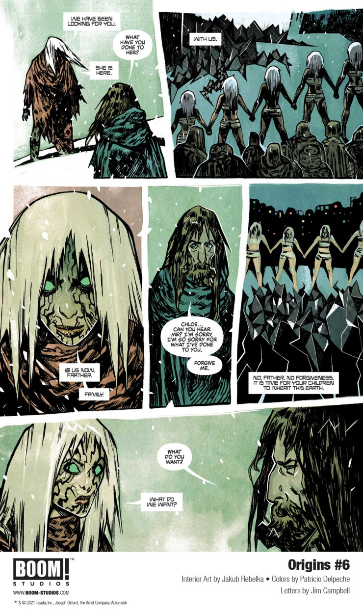 EXCLUSIVE BOOM! Preview: Origins #6