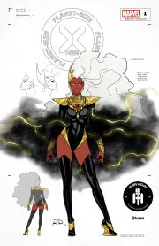 Marvel's X-Men are a triple thread in new Russell Dauterman costume designs
