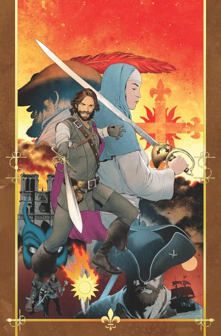 AfterShock First Look: Seven Swords #1