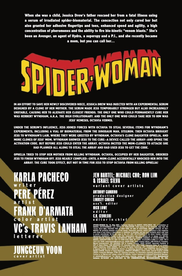 Marvel Preview: Spider-Woman #10