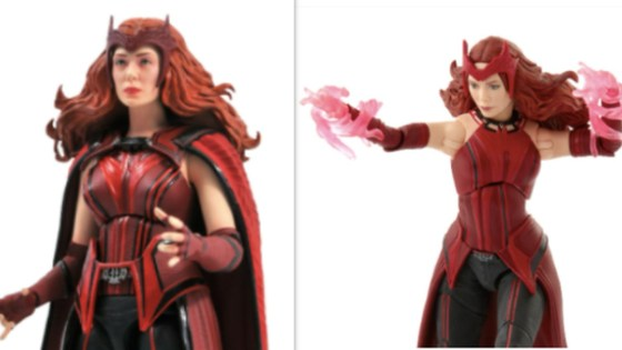 WandaVision: Marvel Legends and Marvel Select Scarlet Witch figures revealed