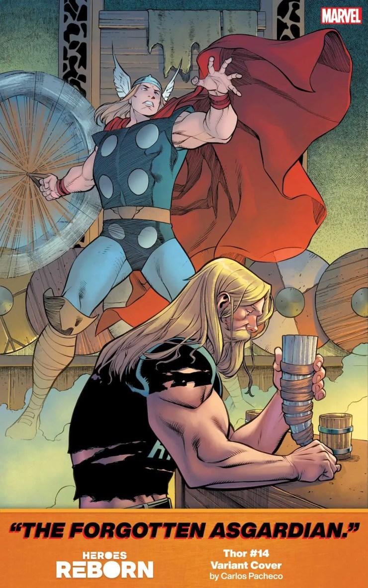 Marvel reveals new 'Heroes Reborn' covers by Carlos Pacheco hinting at heroic origins