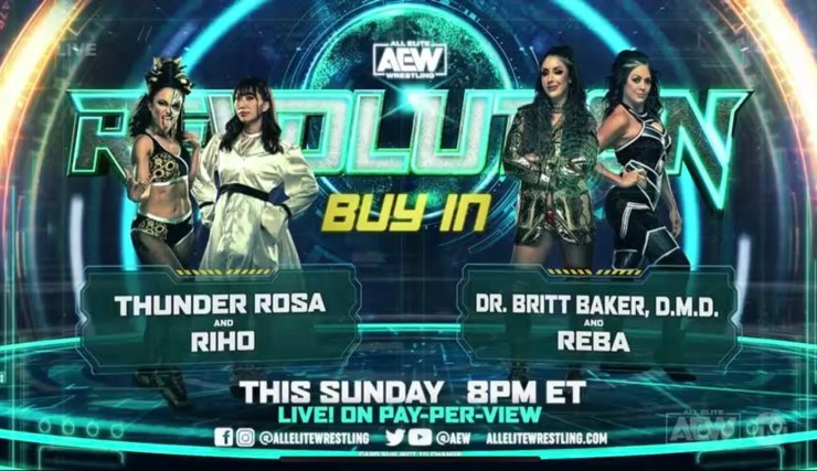 AEW Revolution 2021 preview and predictions