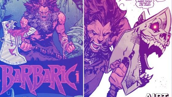Vault Comics First Look: Barbaric #1