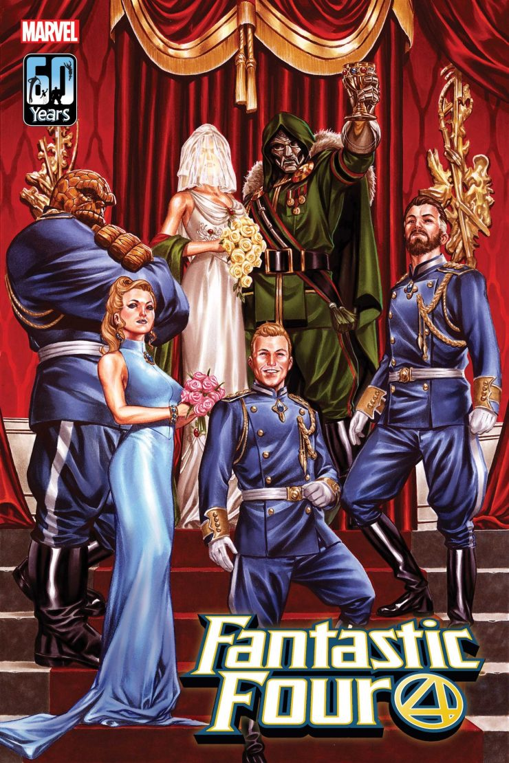 Doctor Doom is getting married in 'Fantastic Four' #33