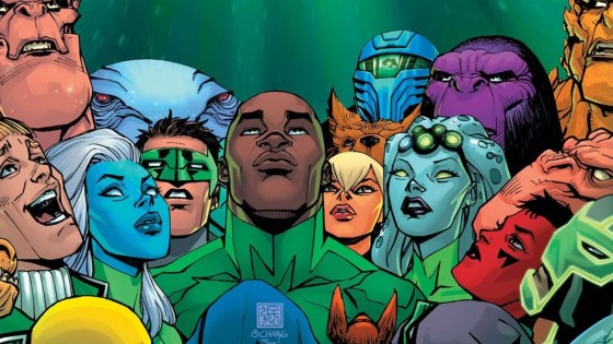 """Geoffrey Thorne promises a """"bumpy ride"""" for upcoming 'Green Lantern' series"""