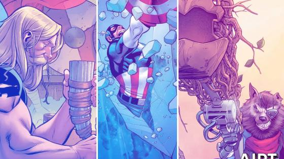 Marvel reveals new 'Heroes Reborn' covers by Carlos Pacheco hinting at heroic origins