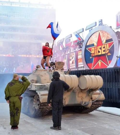 Rusev WrestleMania 31