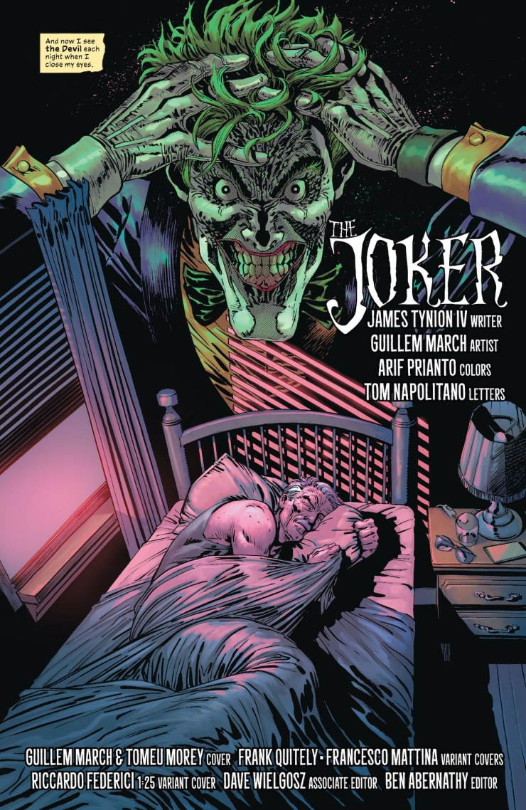 DC Preview: The Joker #1