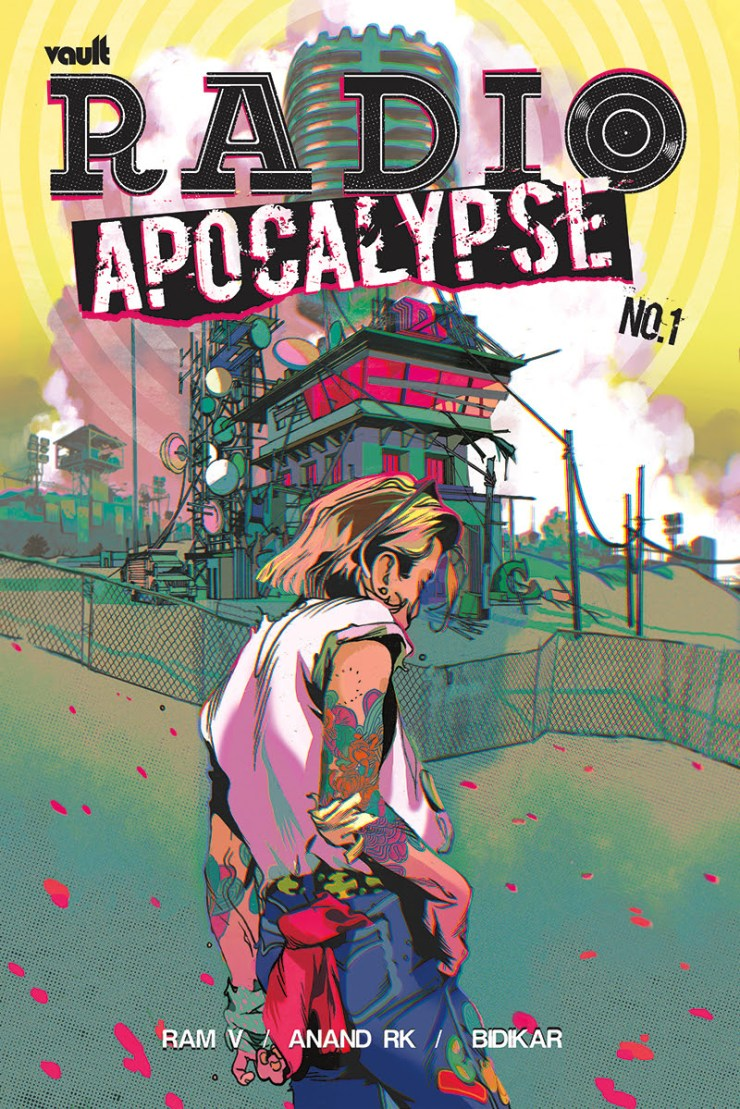 Vault shifts Ram V and Anand RK's 'Radio Apocalypse' #1 to October