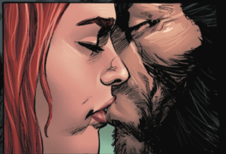 Is there trouble on Krakoa for a certain poly couple in 'X-Force' #18?