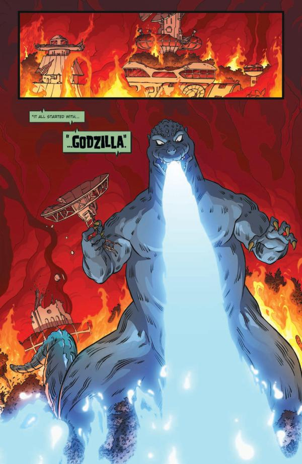 'Godzilla: Monsters & Protectors' #1 is a great addition to the Godzilla legacy