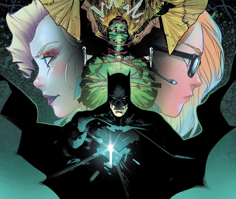 Batman 107 cover by Jorge Jimenez