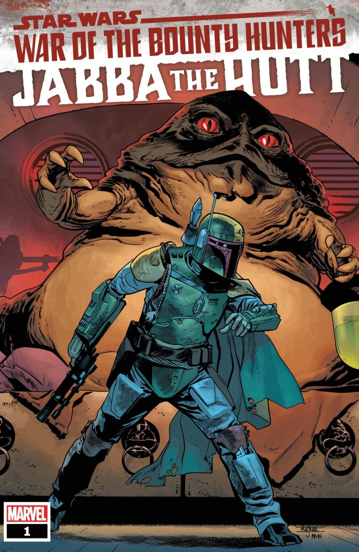 Marvel launches six 'Star Wars: War of the Bounty Hunters' teasers