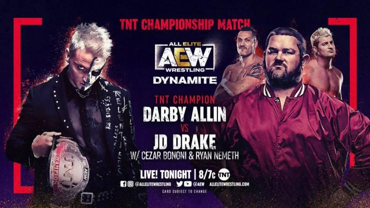 AEW Dynamite - Darby Allin vs. JD Drake