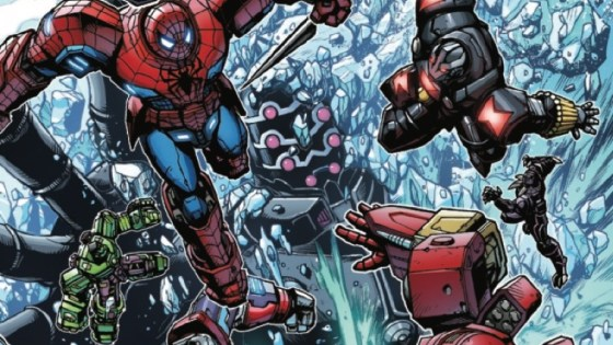 Marvel Preview: Avengers Mech Strike #3