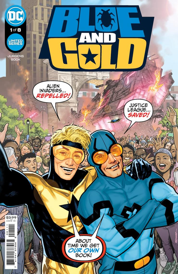 DC First Look: 'Blue & Gold' #1