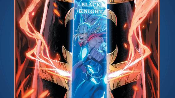 Marvel teases Mjolnir vs. the Ebony Blade this May in 'Black Knight'