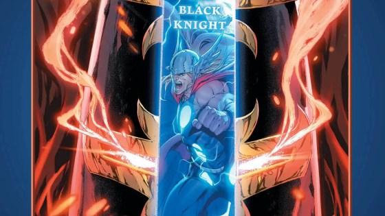 Marvel teases Mjolnir vs. the Ebony Blade this May in 'Black Knight'