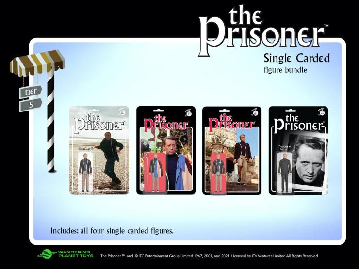 Kickstarter Alert: 'The Prisoner' retro action figures