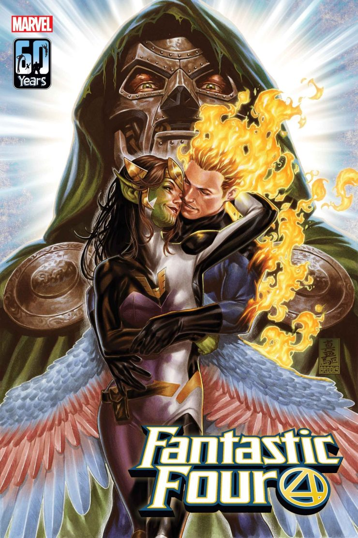 Marvel Comics goes all out with 'Fantastic Four' #32 variant covers