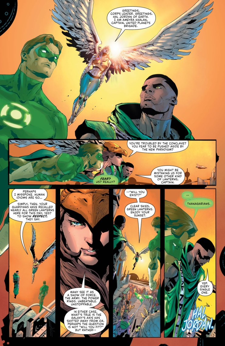 DC Preview: Green Lantern #1