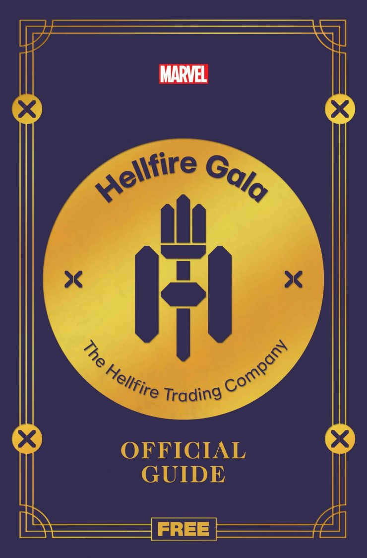 Marvel surprises with 'Hellfire Gala Guide' available this wee