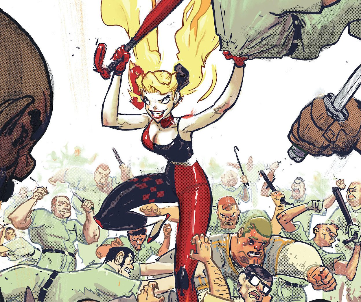 'Harley Quinn' #2 presents a conflict not far removed from our own society