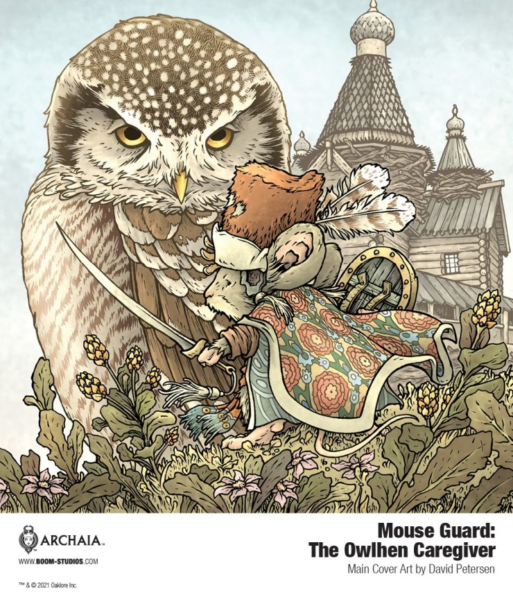 BOOM! Preview: Mouse Guard: The Owlhen Caregiver