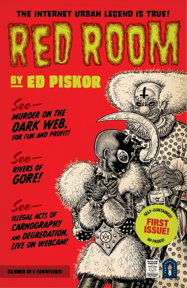 Ed Piskor gets weird and wild with 'Red Room'