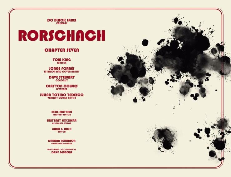 DC Preview: Rorschach #7
