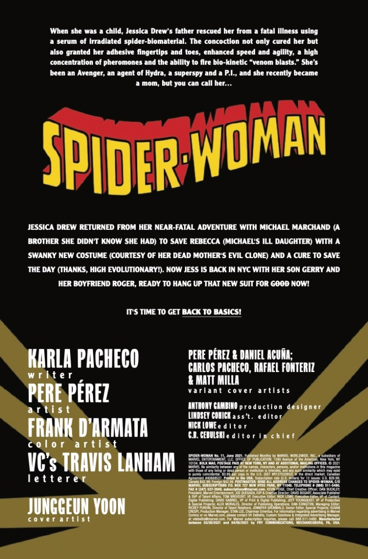 Marvel Preview: Spider-Woman #11