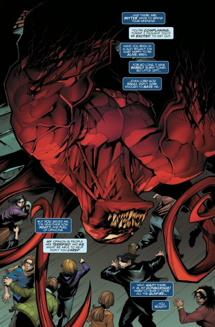 Marvel Preview: King In Black: Planet Of The Symbiotes #3
