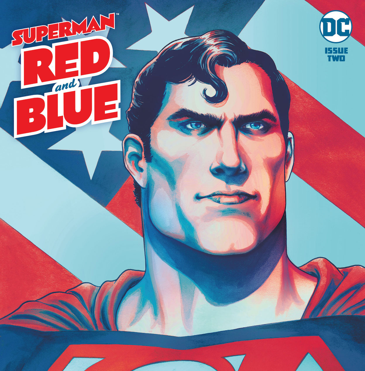 DC Preview: Superman Red & Blue #2