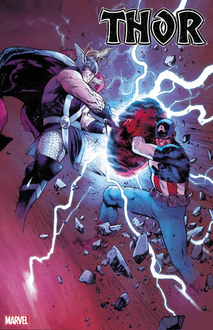 Marvel teases Thor vs. Captain America in 'Thor' #15