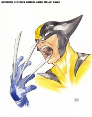 wolverine Marvel to launch anime-inspired Peach Momoko variant cover series