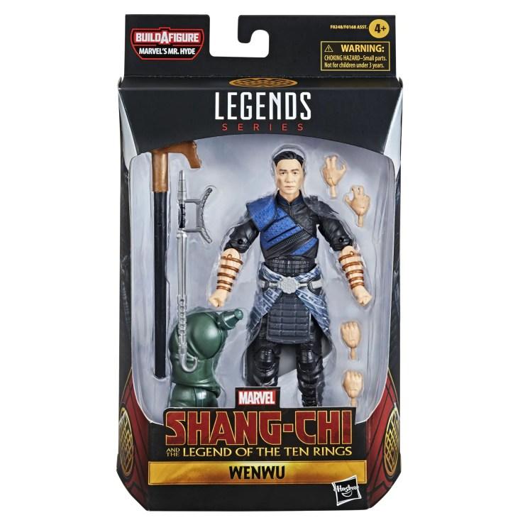 Marvel Legends: 'Shang-Chi' MCU figures revealed