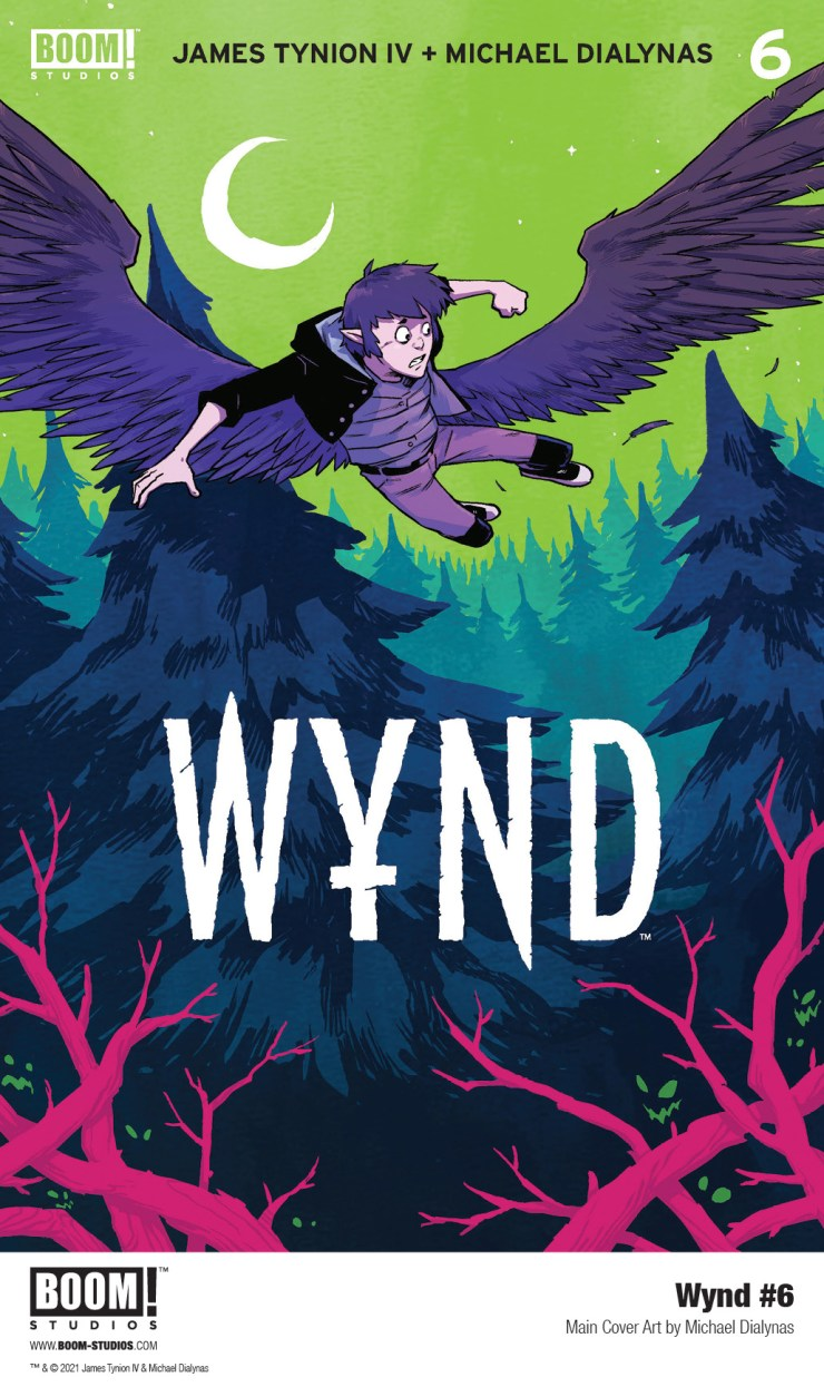 BOOM! Preview: Wynd #6