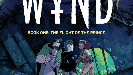 'Wynd Book One: The Flight of the Prince' review: Magic and gay identity as natural beauty