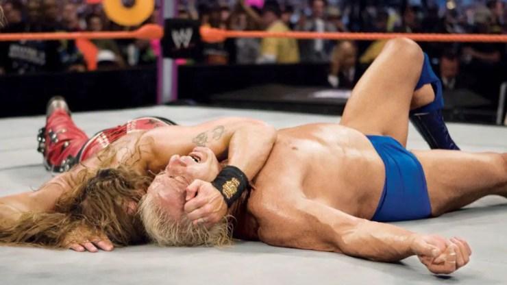 Shawn Michales Ric Flair WrestleMania