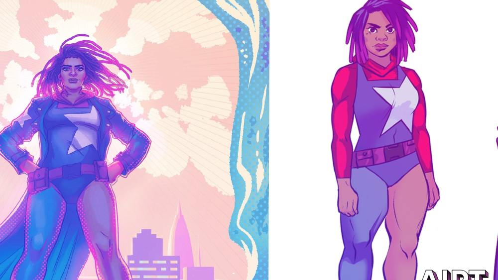 'United States of Captain America' #2 to intro new hero Nichelle Wright