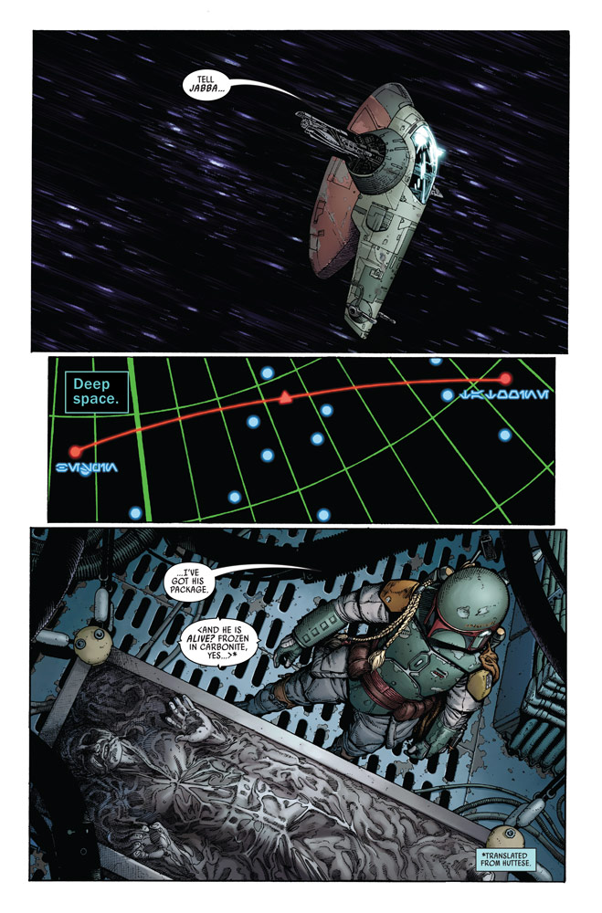Marvel Preview: Star Wars: War Of The Bounty Hunters Alpha #1