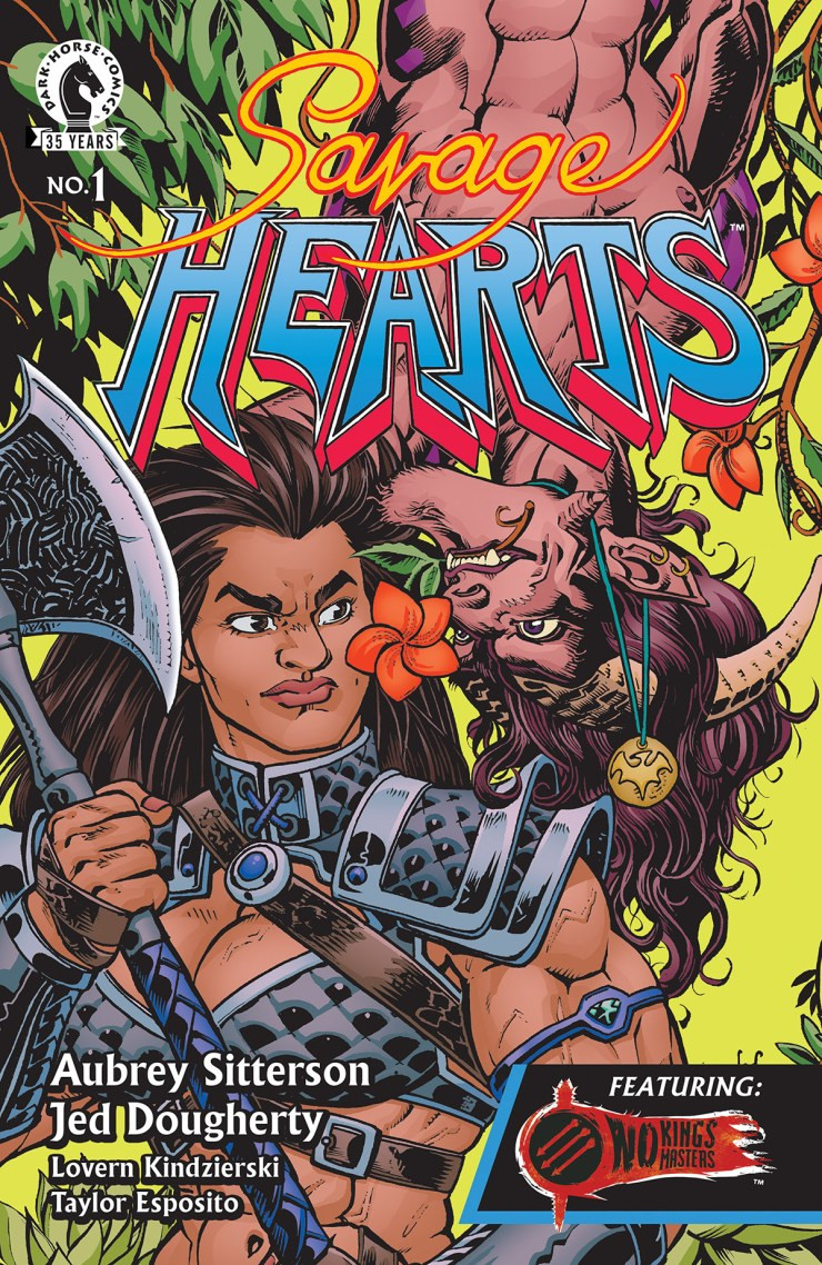Dark Horse announces 'Savage Hears' for July 2021